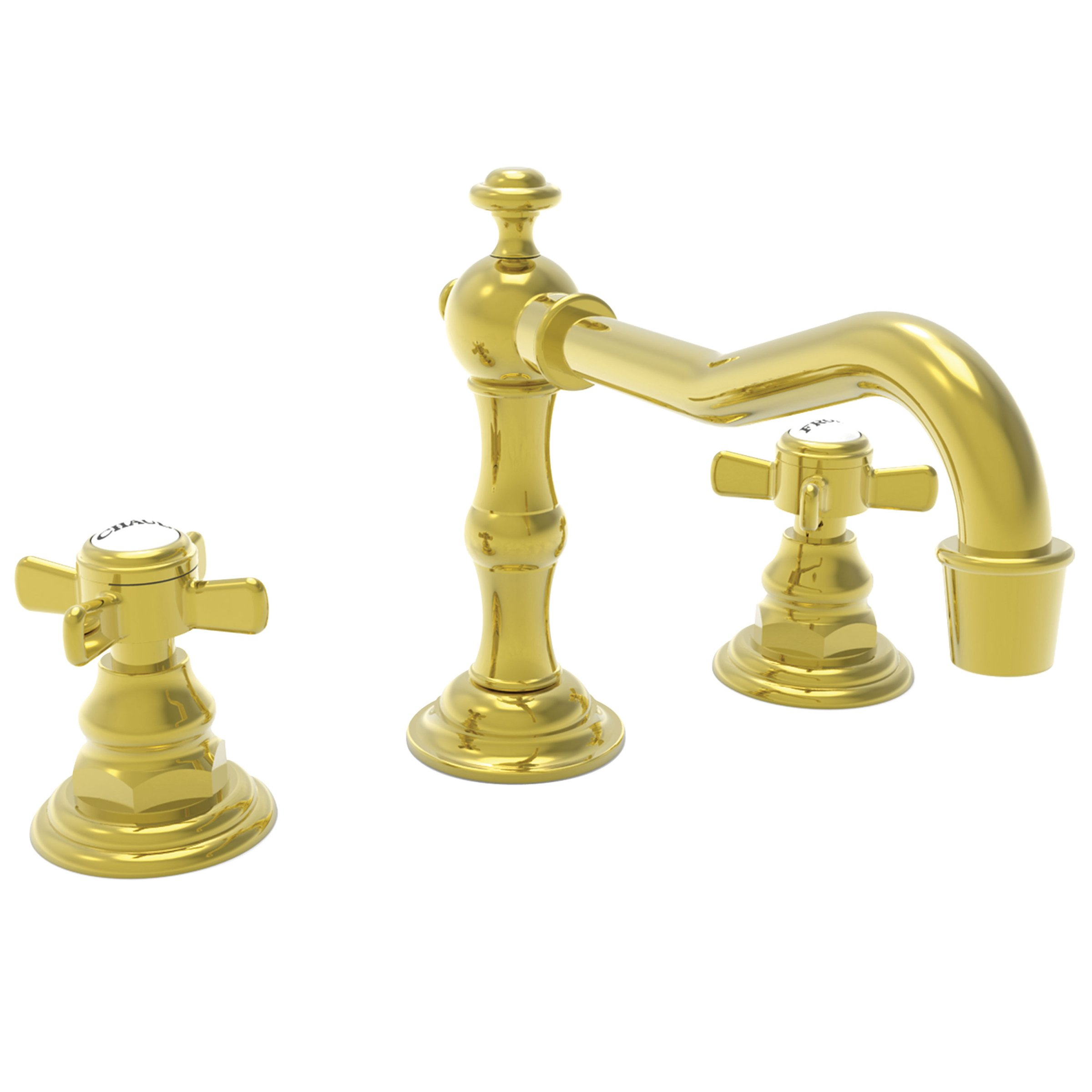 Newport Brass 1000 Widespread Faucet W Bladex Hdl Newport Brass Faucets