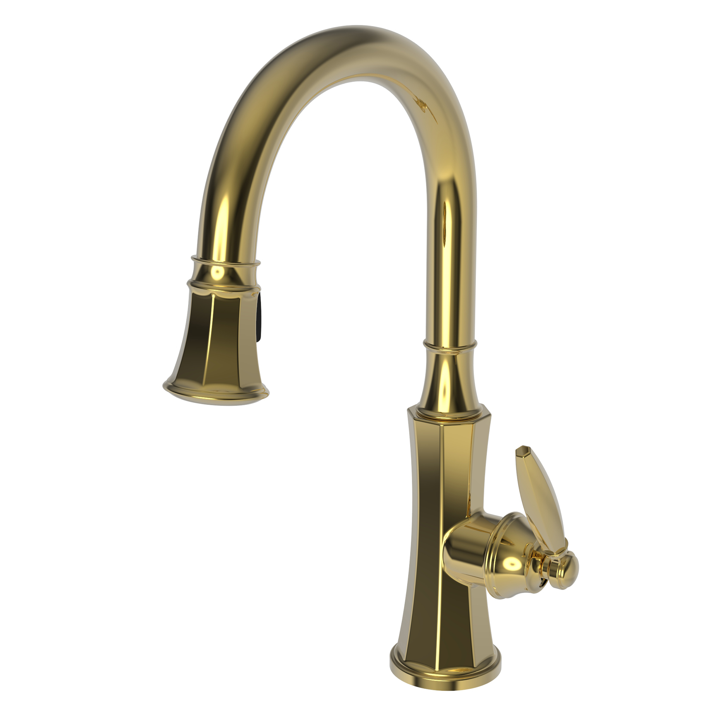 Newport Brass 1200 5103 Metropole 1200 5103 Pull Down Kitchen Faucet Newport Brass Faucets