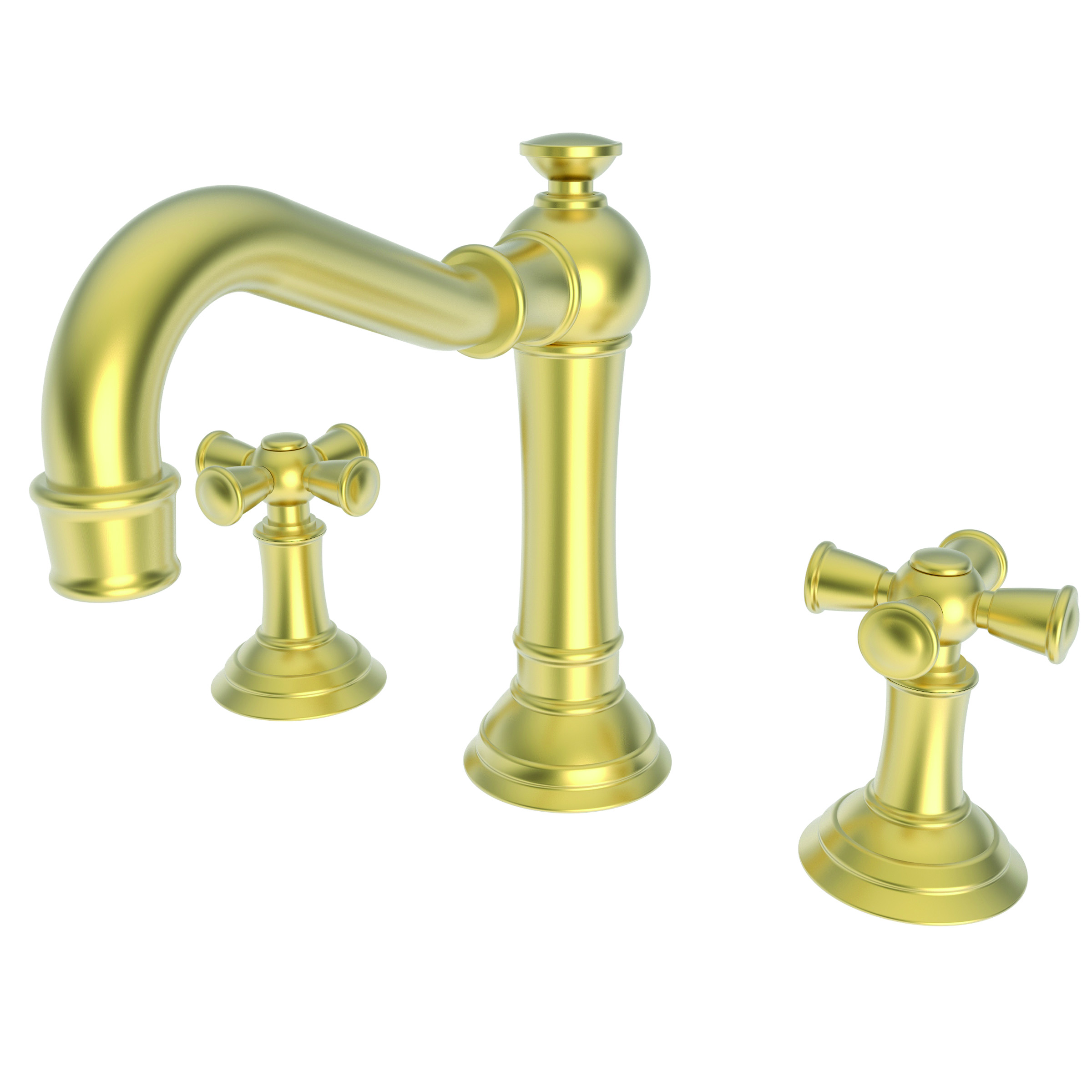 Newport brass 2460 widespread lavatory faucet country base cross handles newport brass faucets Newport brass bathroom faucets