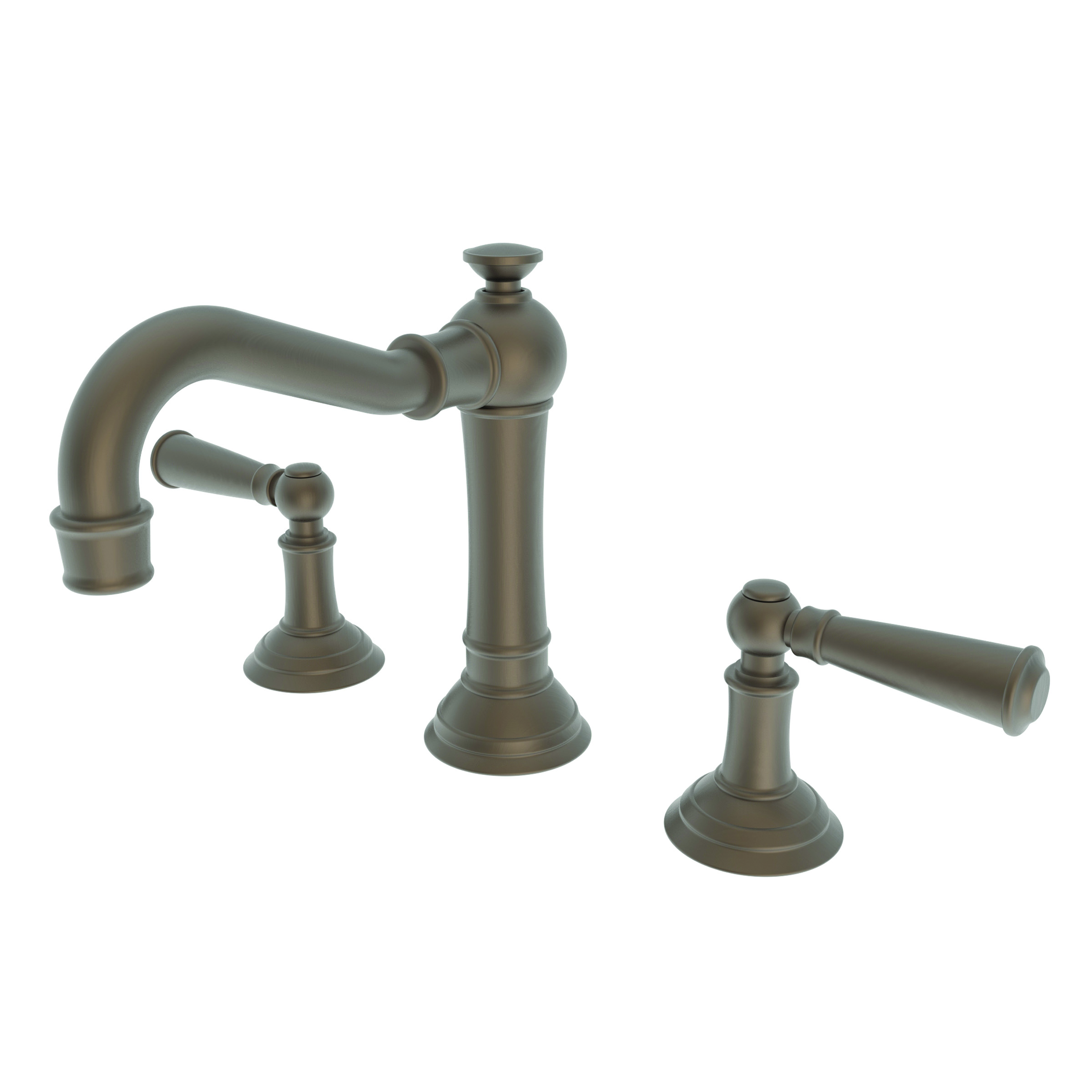 Newport brass 2470 widespread lavatory faucet country base lever handles newport brass faucets Newport brass bathroom faucets