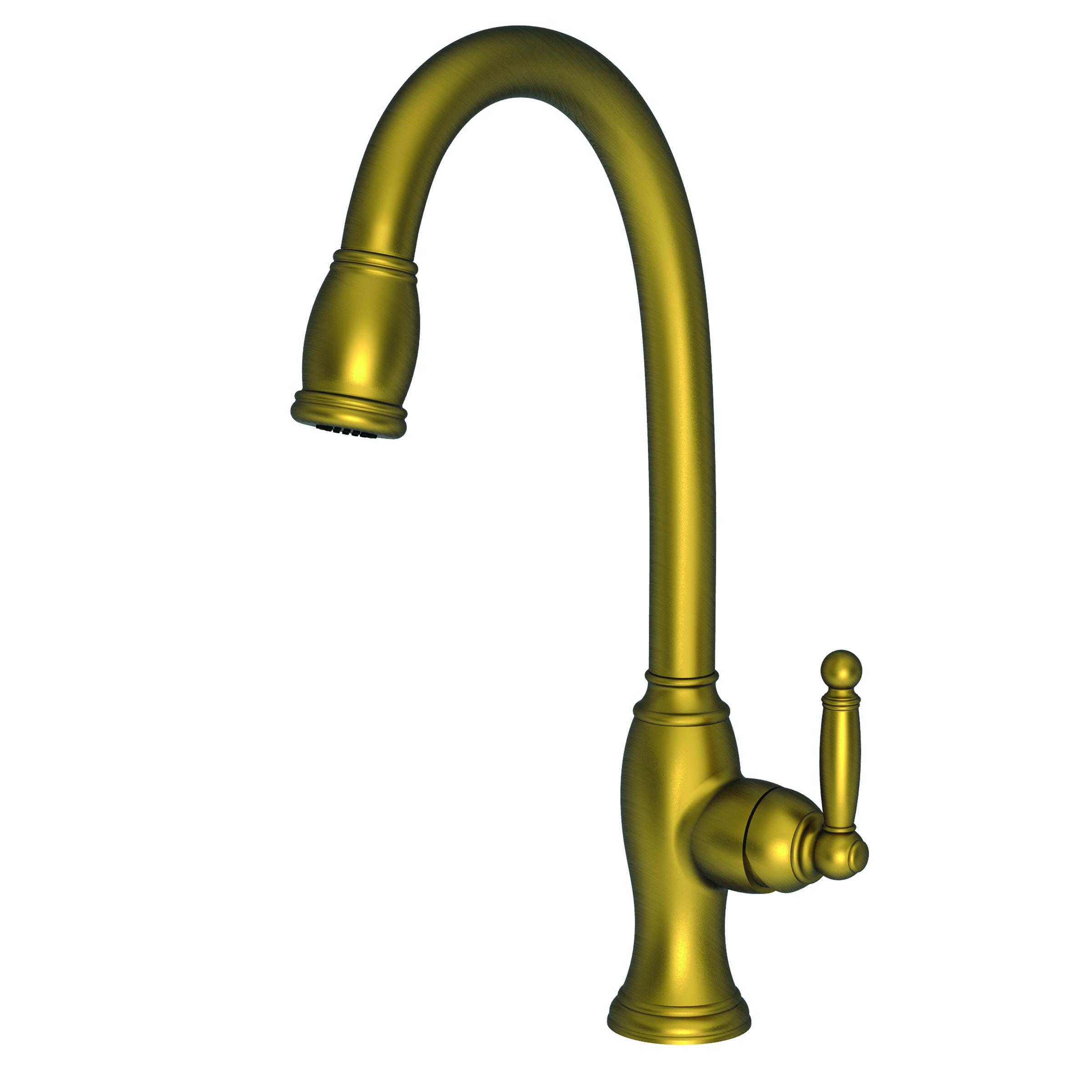 Newport Brass 2510 5103 Pull Down Kitchen Faucet   Newport Brass Faucets