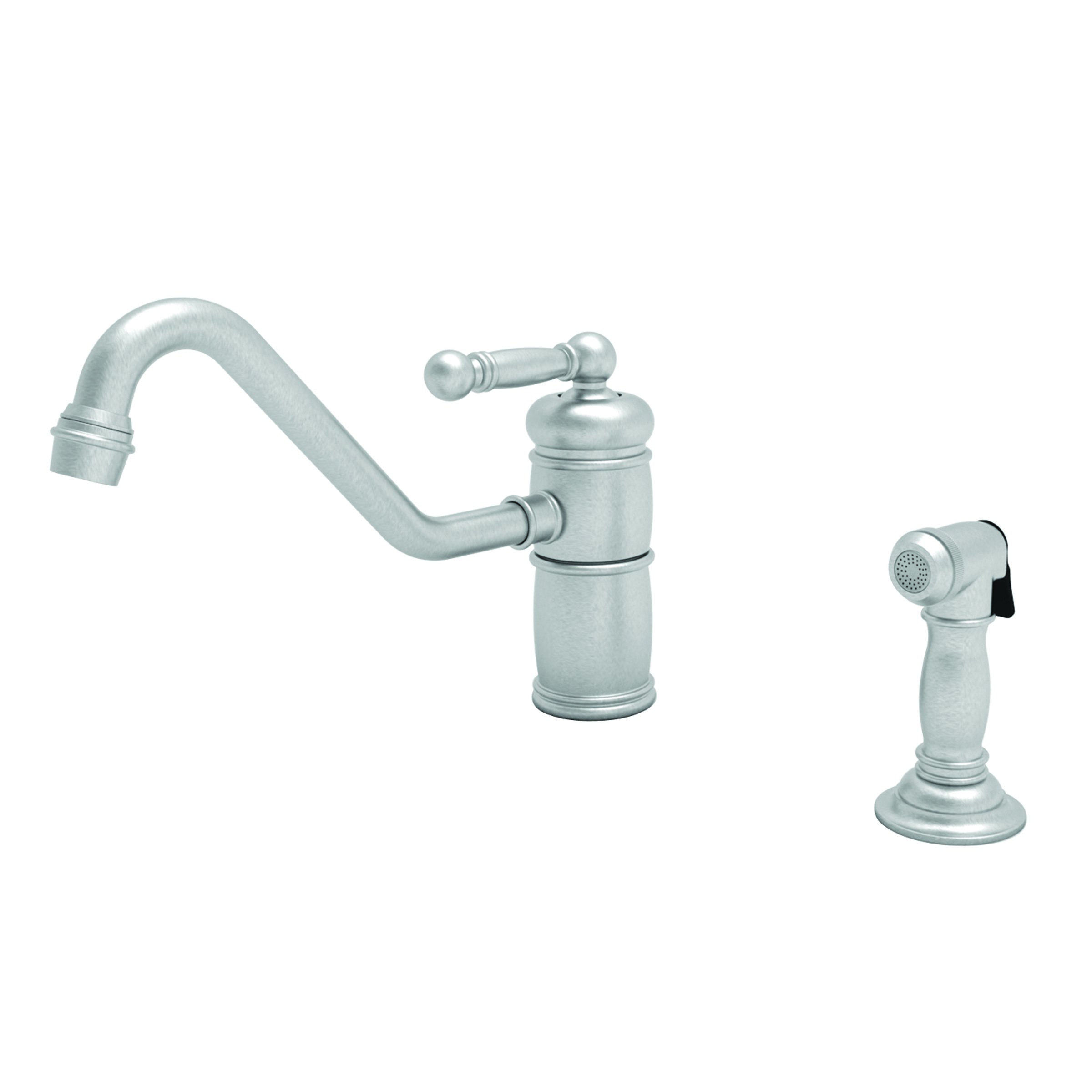 Newport Brass 941 Nadya Single Handle Kitchen Faucet With