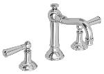 Newport Brass 2470 Widespread Lavatory Faucet Country Base Lever Handles
