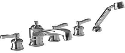 Newport 3-2597 Roman Tub Faucet With Hand Shower