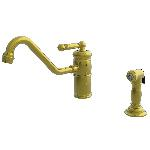 Newport Brass 941 Nadya Single Handle Kitchen Faucet with Side Spray